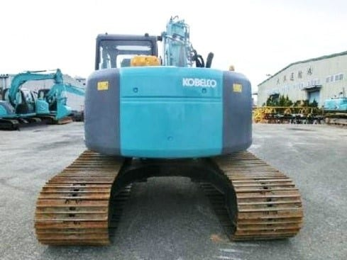 KOBELCO SK135SR-1ES Excavator w Hydraulic Piping & Load Indicator