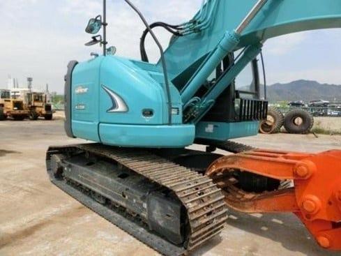 KOBELCO SK225SR-2 Excavator (2012) with Yutani Grapple