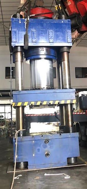 2000Ton 4 Column Hydraulic Press - Singapore Used Equipment